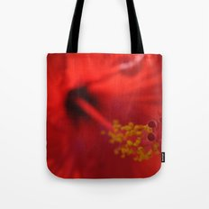 Hibiscus center puff Tote Bag
