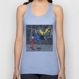 Free Spirits in Spandex - Color Pop Unisex Tank Top