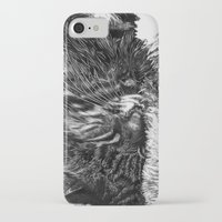 charlie iPhone & iPod Cases featuring Charlie by Lucy Schmidt Art