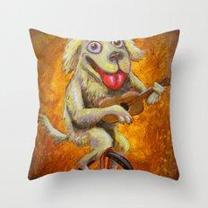 Tidus the Dog Throw Pillow