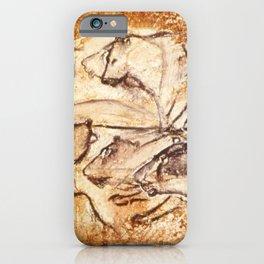 Panel of Lions // Chauvet Cave iPhone Case