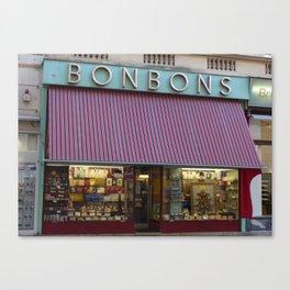 bonbons Canvas Print