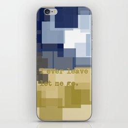 Expectation iPhone Skin