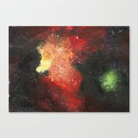 cosmic Canvas Prints featuring Cosmic by Bleriot
