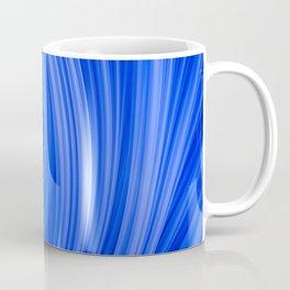 Flow Strand. Endless Blue. Abstract Art Coffee Mug