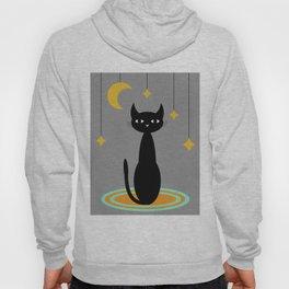 Black Cat Moon Hoody
