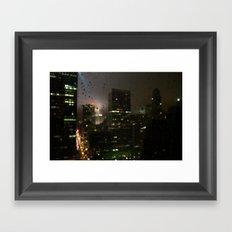 drops Framed Art Print