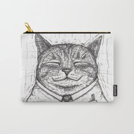 Office Cat Carry-All Pouch