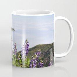 Catalina Lupines Coffee Mug