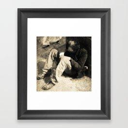 Homeless#1 Framed Art Print
