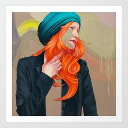 Trischa Art Print
