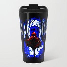 Red Riding Hood Tardis Travel Mug