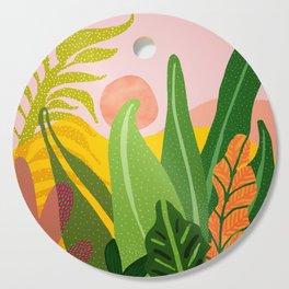Jungle Morning Cutting Board