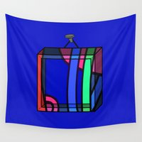 frames Wall Tapestries featuring Frames 01 by Stefan Stettner