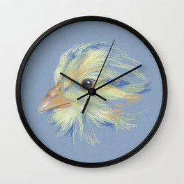Chick - Plymouth Barred Rock Wall Clock