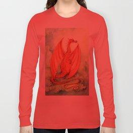 Vermillion Dragon Long Sleeve T-shirt