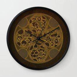 Tick-Tock Poem in Circular Gallifreyan Wall Clock