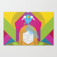 Anointed for Burial (by Anne Ulku) Canvas Print