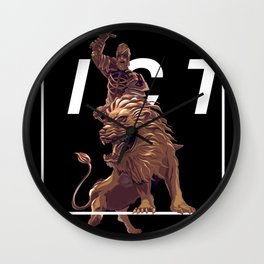To Victory! Wall Clock