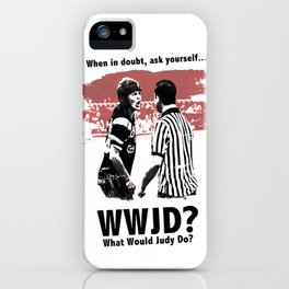 What would Judy do? iPhone Case