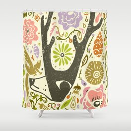 Elking Elk Shower Curtain