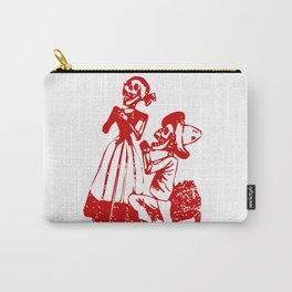 Skeleton Couple Carry-All Pouch
