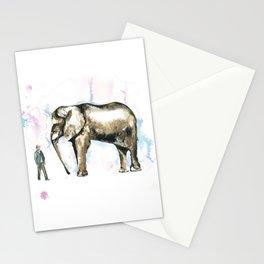 Jumbo elephant Stationery Cards
