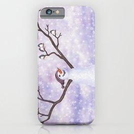 snowman joy iPhone Case