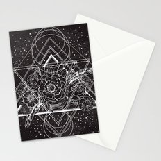 Flowers of Space Stationery Cards