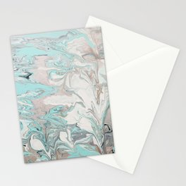 Marble - Mint Stationery Cards