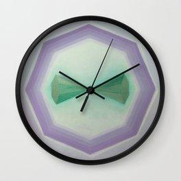 "Unnamed Series No. 8 ""Light Blue"" Wall Clock"
