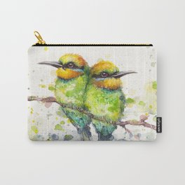 Family (Rainbow Bee Eaters) Carry-All Pouch