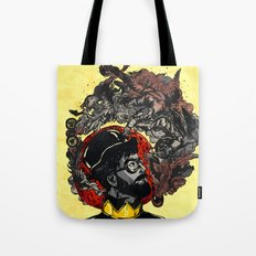 Pipe of Peace and Love Tote Bag