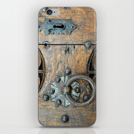 Church door iPhone Skin