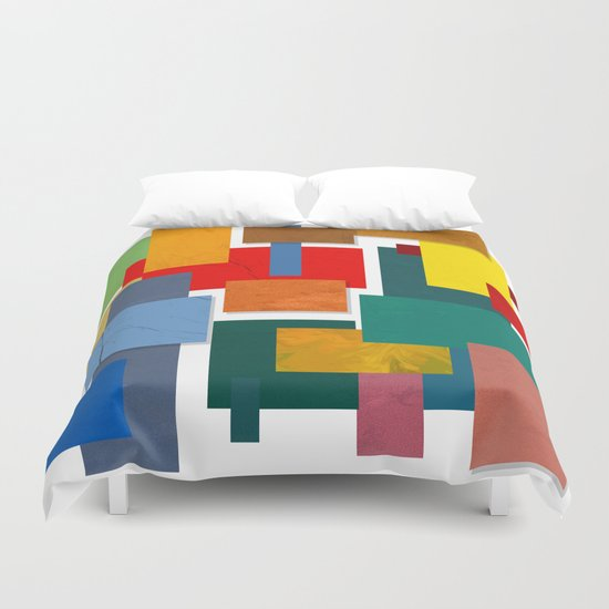 Abstract #338 Duvet Cover