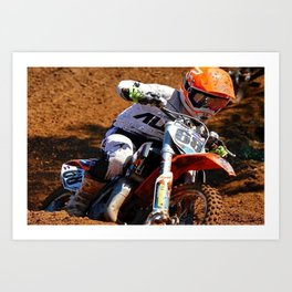 Racing Home Art Print