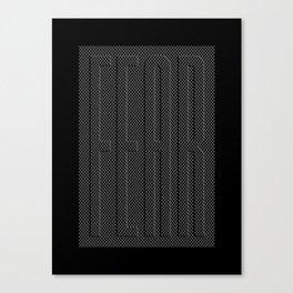 Fear Fence Canvas Print