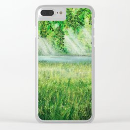 sunshade of nature Clear iPhone Case