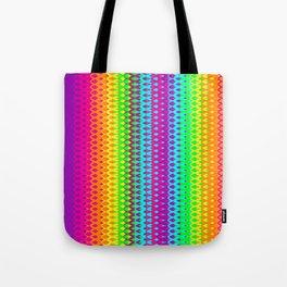 Hippy Rainbow Heaven Tote Bag