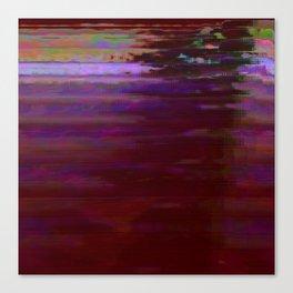 000000 (Dead City Glitch) Canvas Print