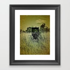 Grill Framed Art Print