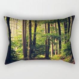 Woods Are Calling Rectangular Pillow