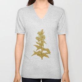 the herbarium yellow Unisex V-Neck