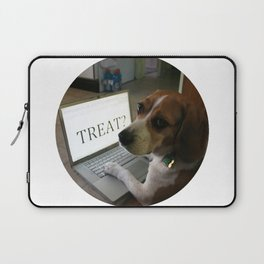 """""""Can I have a.. Treat?"""" Laptop Sleeve"""
