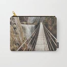 """The Bridge"". At the mountain. Retro Carry-All Pouch"