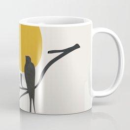 Bird and the Setting Sun Coffee Mug