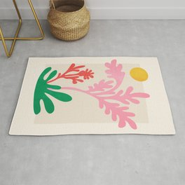 Abstract Garden: Matisse Paper Cutouts IV Rug