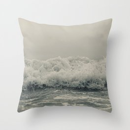 Crash into me Throw Pillow