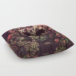 Bloom Skull Floor Pillow