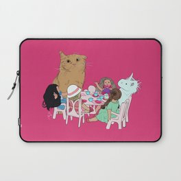 Teatime//because every cat deserves to be spoiled Laptop Sleeve